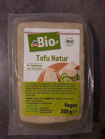 Les produits v g tariens chez dm le frontalier malin - Cuisiner le tofu nature ...