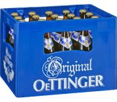 Oettinger Pils, bière*, 5.40€/10 litres (  3.10€ de consigne )  à Aachen, Würselen, Monschau, Kehl, Offenburg, Lörrach, Völklingen, Merzig,  Emmendingen, Ettenheim, Pirmasens